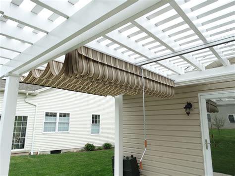 retractable sun shade for pergola retractable pergola sun shade home design ideas