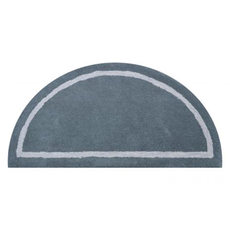 Half Circle Rugs by Deluxe Comfort Henley Wool Rug And Half Circle