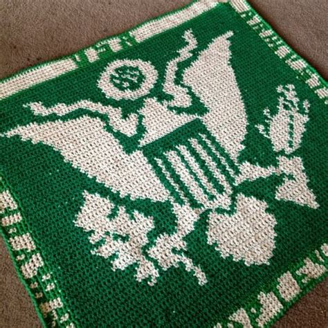 crochet pattern for army afghan 17 best images about us military patterns on pinterest