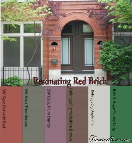 paint color ideas to go with brick i like the