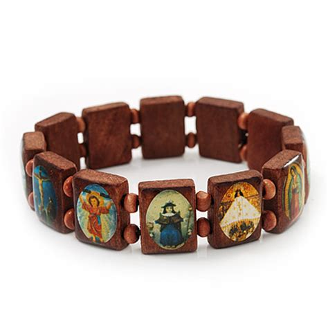 brown wooden religious images catholic jesus icon saints