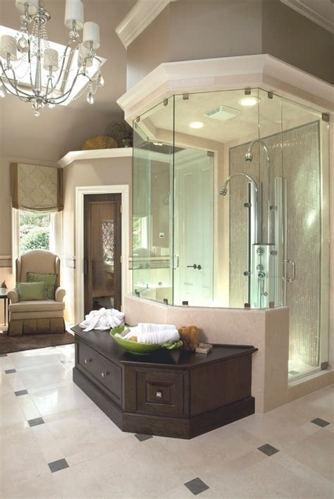Luxury Bathroom Showers Luxurious Stand Up Showers