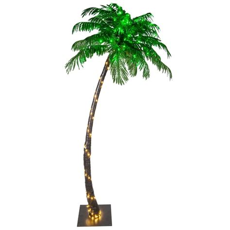 outdoor led lighted palm trees outdoor lighting ideas