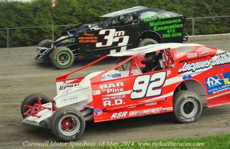 cornwall motor speedway pellettier collects dirtcar sportsman win at