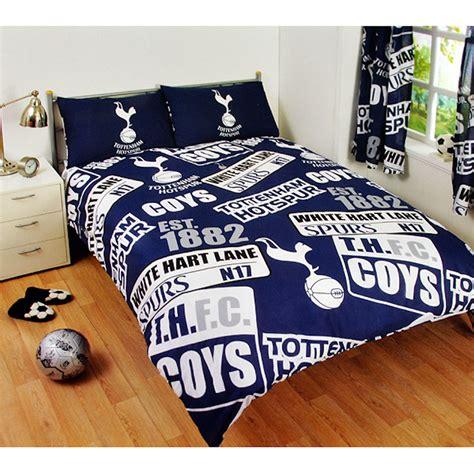 football bedding sets new tottenham hotspur spurs football double duvet quilt