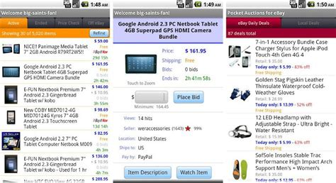 best android apps for buying or selling on craigslist and ebay
