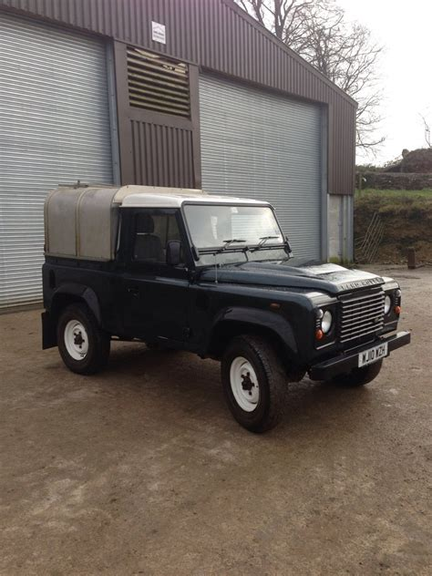land rover defender 2010 2010 land rover defender 90 pick up the farming forum