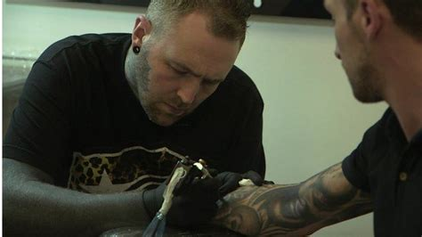tattoo fixers kevin paul tattooist kevin paul gives his top five tips bbc news