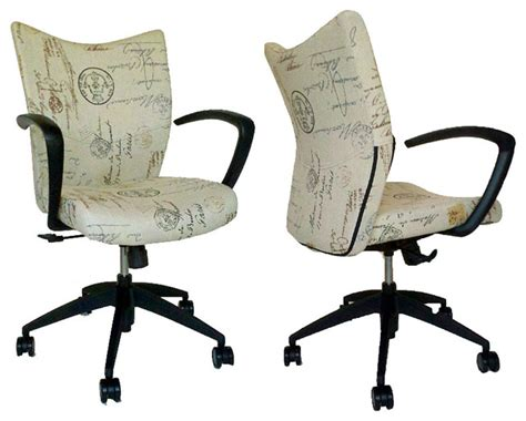 desk chairs for home office home office chair script fabric office chairs by