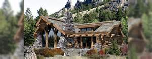 caribou handcrafted log home floor plan