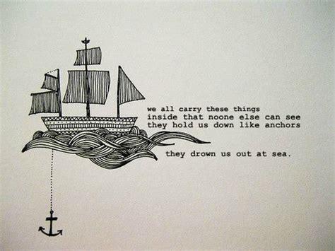 anchor tattoo quotes tumblr celestial louve pablo neruda