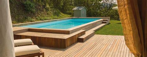 piscine giardino fuori terra piscine fuori terra coltivare facile