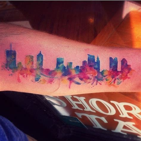 watercolor tattoo new york columbus usa