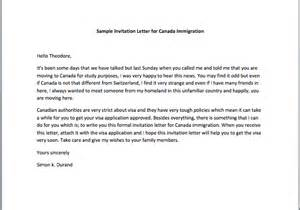 Invitation Letter Sle Canada Immigration Invitation Letter Sle
