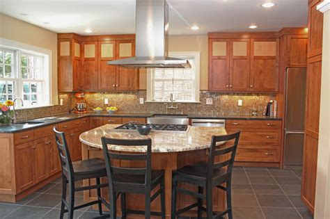 Kitchen Island Pendant Lighting Ideas Craftsman Style Kitchen Renovation Contemporary