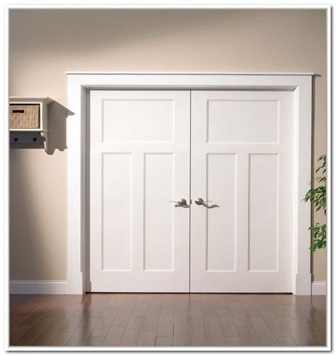 Two Door Closet Doors For Closets Home Design