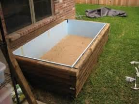 Covering Raised Garden Beds - woodwork diy wood koi pond pdf plans