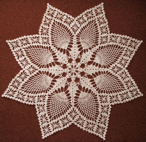 snowflake doily pattern snowflake pineapple doily can t find pattern crochet