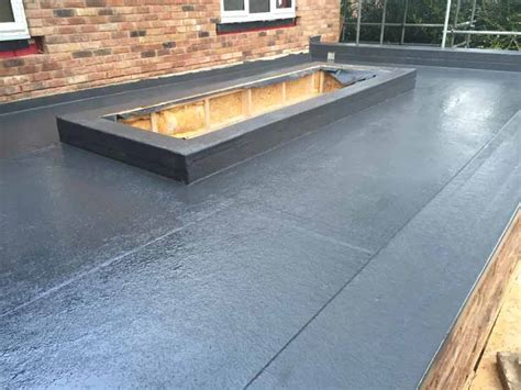 fibreglass flat roofing in grp flat roof services in cheshire