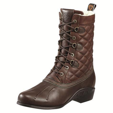 Fleece Boots ariat barnsley fleece boot