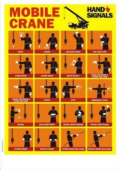 crane signals images   safety posters