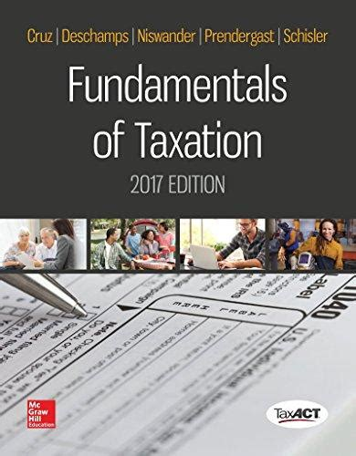 fundamentals of taxation 2018 ed 11e books federal taxation textbooks shop for new used college