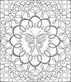 free coloring pages free coloring pages detailed printable coloring