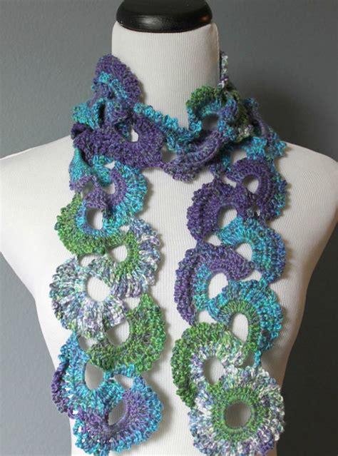 crochet pattern queen anne s lace scarf womens crochet scarf queen annes lace crochet scarf ombre