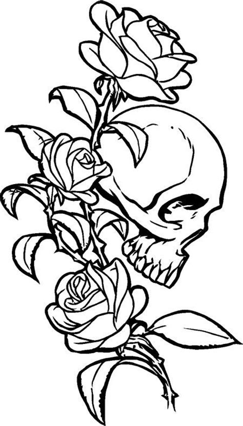 coloring pages skulls and roses 118 best images about jp decals designs on pinterest
