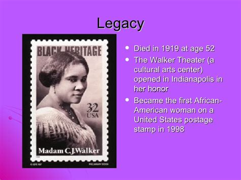 Madam Is Naming Names by Madam C J Walker