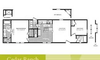2 Bedroom 2 Bath Single Wide Mobile Home Floor Plans 2 Bedroom 1 Bath Mobile Home Floor Plans Bath Home Plans