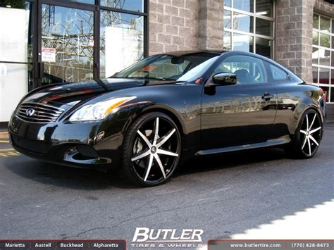 infiniti g37 coupe tire size infiniti g37 with 22in lexani r seven wheels exclusively