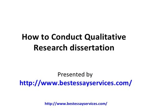 how to conduct a research paper how to conduct qualitative research dissertation