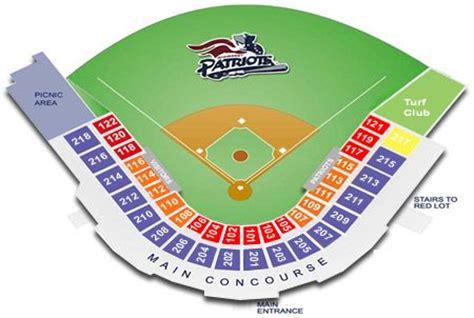 td bank seating td bank ballpark