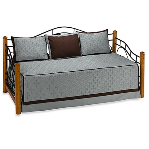 Bed Bath And Beyond Daybed Sets Medallion Aqua Daybed Set 100 Cotton Bed Bath Beyond