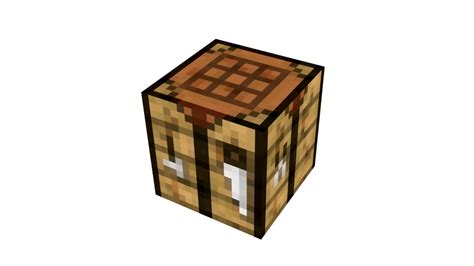 Minecraft Craft Table by Crafting Table Texture Pack By Tardifice On Deviantart