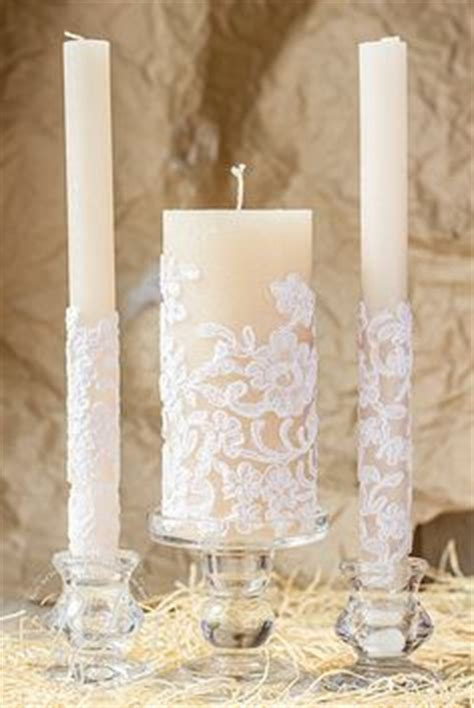 Set Lilin Purple ivory unity candles wedding colors pearl and rhinestone diamonds white unity candle set with