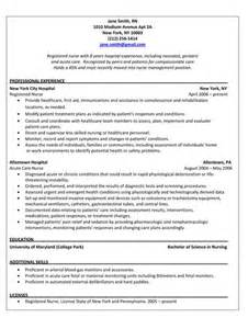 Registered Resume Bullets Ohio State Nursing Resume Sales Nursing Lewesmr