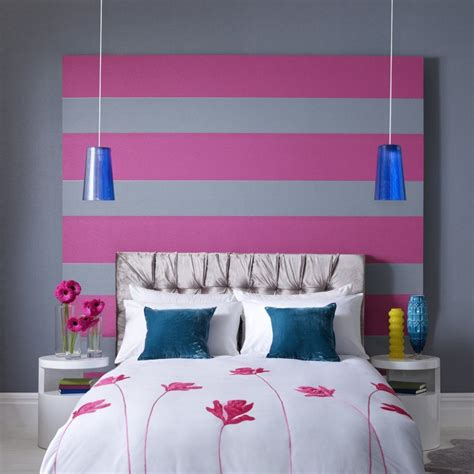 white and pink striped wall contemporary bedroom pink archives panda s house 68 interior decorating ideas
