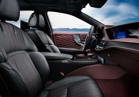 lexus ls interior 2017 2018 lexus ls 500h price specs interior redesign