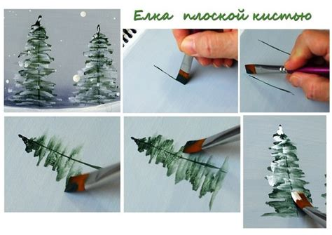 how to paint christmas tree video beesdiy com