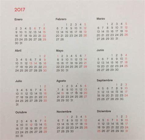 Calendario 2017 Excel Con Festivos Madrid Establece Como Festivos Para 2017 El Lunes 15 De