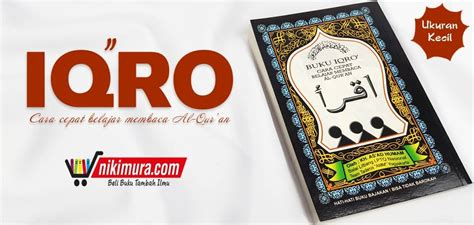Buku Iqro Kecil toko buku islam murah