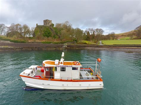 charter boat fishing oban etive boat trips wildlife and scenic boat trips near oban