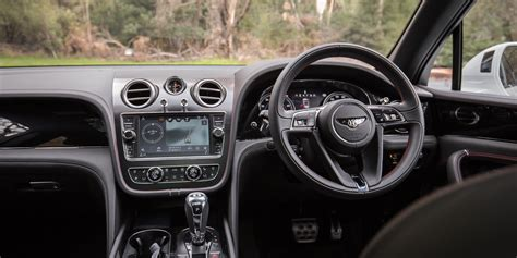 Bentley Suv Interior by 2016 Bentley Bentayga Review Caradvice