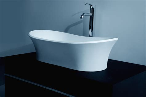 resin sinks bathrooms countertop solid surface stone resin glossy bathroom sink