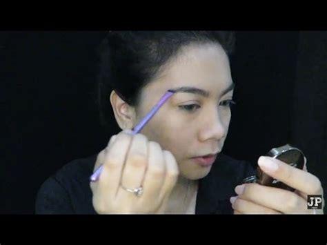 cara membuat alis menggunakan eyebrow my eyebrow routine cara mengisi alis jihan putri youtube