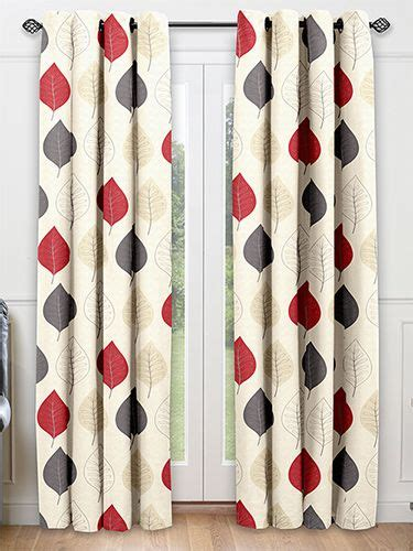 cherry red curtains cherry leaf red ready made curtains from curtains 2go