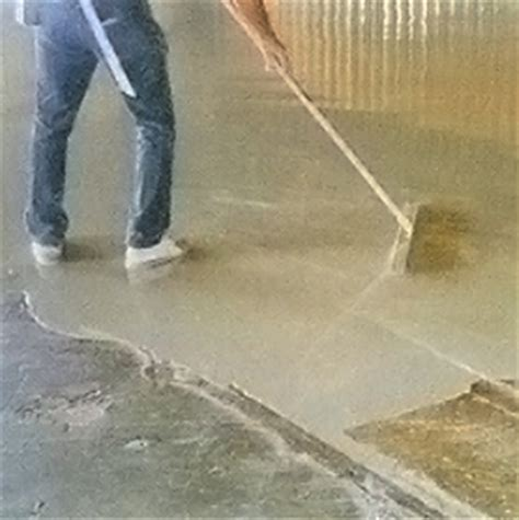 level floor leveling a concrete floor with thinset image mag