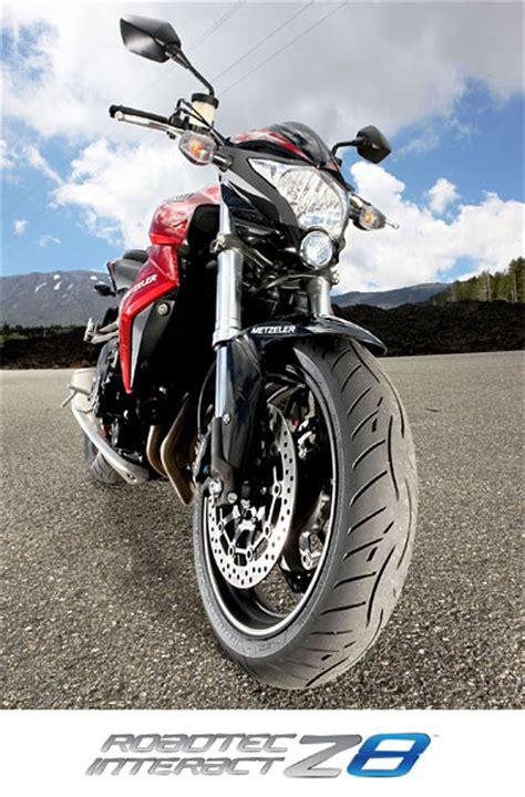 Motorradreifen Laufleistung by Metzeler Roadtec Z8 Interact